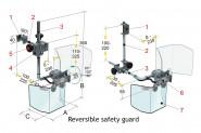 Bernardo Schutzeinrichtung für Fräsmaschinen PFR 20