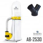 BAMATO Absauganlage AB-2530 mit Y-Adapter (230V)