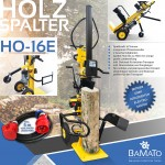 BAMATO Holzspalter mit Elektroantrieb HO-16E mit Verlängerungskabel