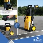 BAMATO HR-220 Hochdruckreiniger inkl. Zubehör