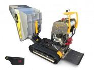 Lumag Vollhydraulischer Mini Raupendumper VH500 GX mit HONDA Motor