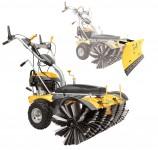 BAMATO Kehrmaschine KEM-1000 mit Schneeschild und E-Start