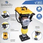 BAMATO Vibrationsstampfer V-85G mit Fahrwerk