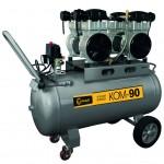 Lumag KOM-90 Druckluft-Kompressor (ölfrei und leise)