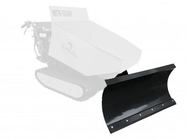 BAMATO höhenverstellbares Schneeschild für Minidumper MTR-500H / MTR-500PRO