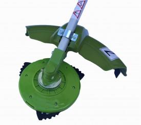2-Takt // 51,7cm/³ Scheppach 5910707903 Sense // Motorsense // Freischneider 2 in 1 Backpack-Motorsense Tipp-Automatik Fadenverl/ängerung leichte Kontrolle durch Stopp-Schalter und Gashebelsperre