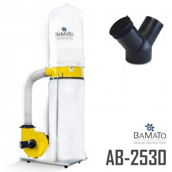BAMATO Absauganlage AB-2530 mit Y-Adapter (400V)