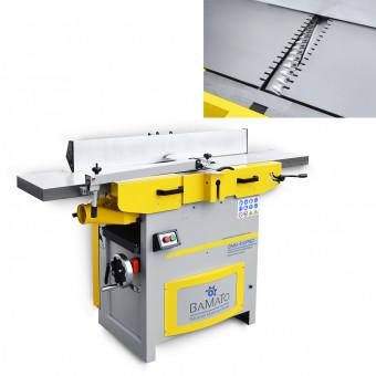 BAMATO Abricht- und Dickenhobelmaschine mit Spiralmesserwelle BHM-310PRO (400V)
