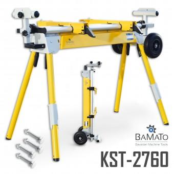 BAMATO universeller Maschinenständer KST-2760 inkl. Schrauben-Kit & Fahrwerk