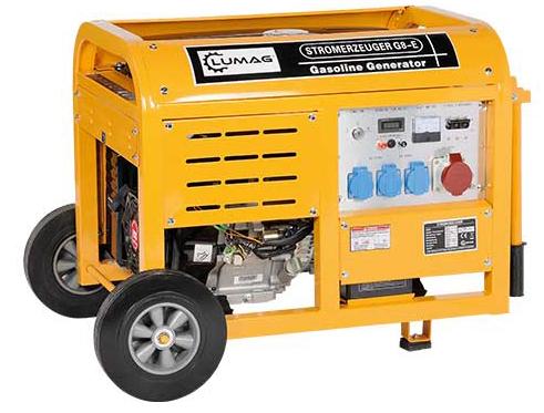 Lumag Benzingenerator G8E mit Kuperwicklung