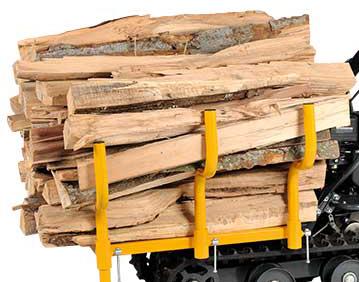 Lumag Holzrunge für MD-500 / MD-500H
