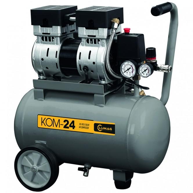 Lumag KOM-24 Druckluft-Kompressor (ölfrei und leise)