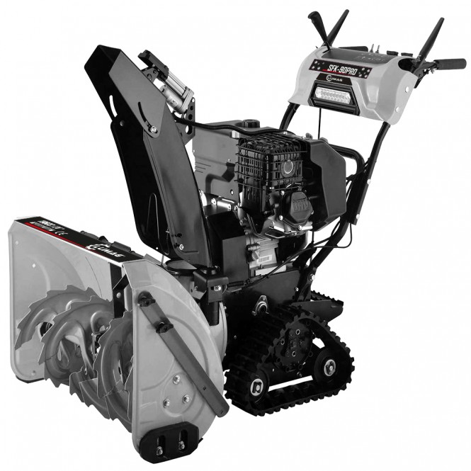 Lumag Profi Schneefräse mit Raupenantrieb SFK-90PRO