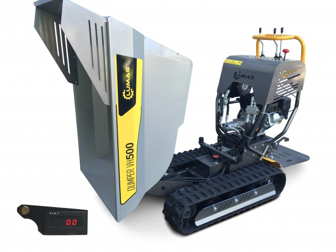 Lumag Vollhydraulischer Mini Raupendumper VH500